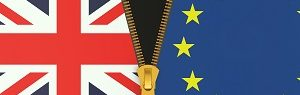 Great Britain and EU, Brexit referendum concept